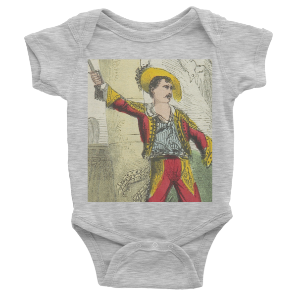 Pirate Boy infant short sleeve one-piece