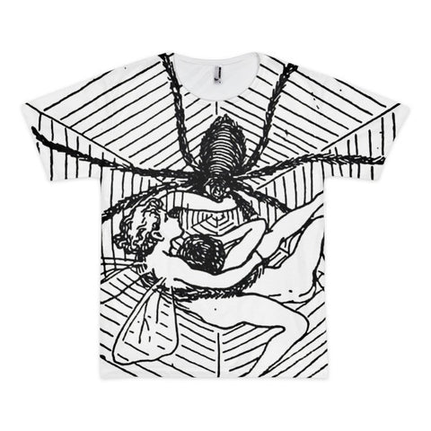 Spider and Faeries - Ilustration by H. Stratton - t-shirt (unisex)