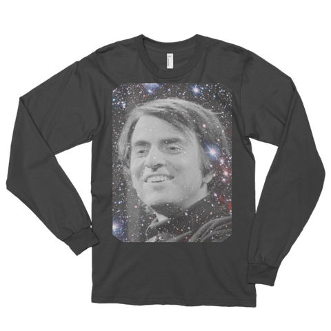 Carl Sagan Billions Long sleeve t-shirt (unisex)