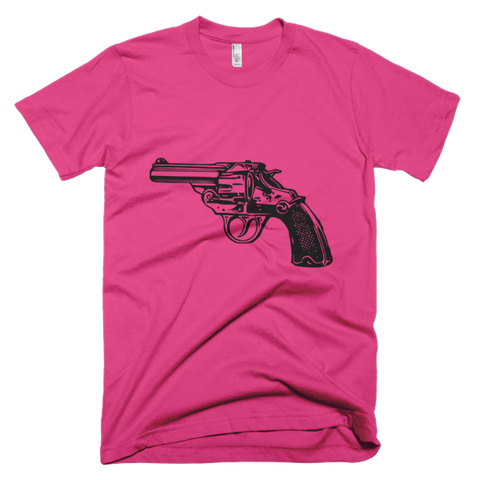 Short sleeve gun t-shirt