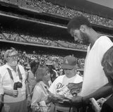 Icons and people - Kareem Jabbar, Tommy Lasorda 1980 Los Angeles