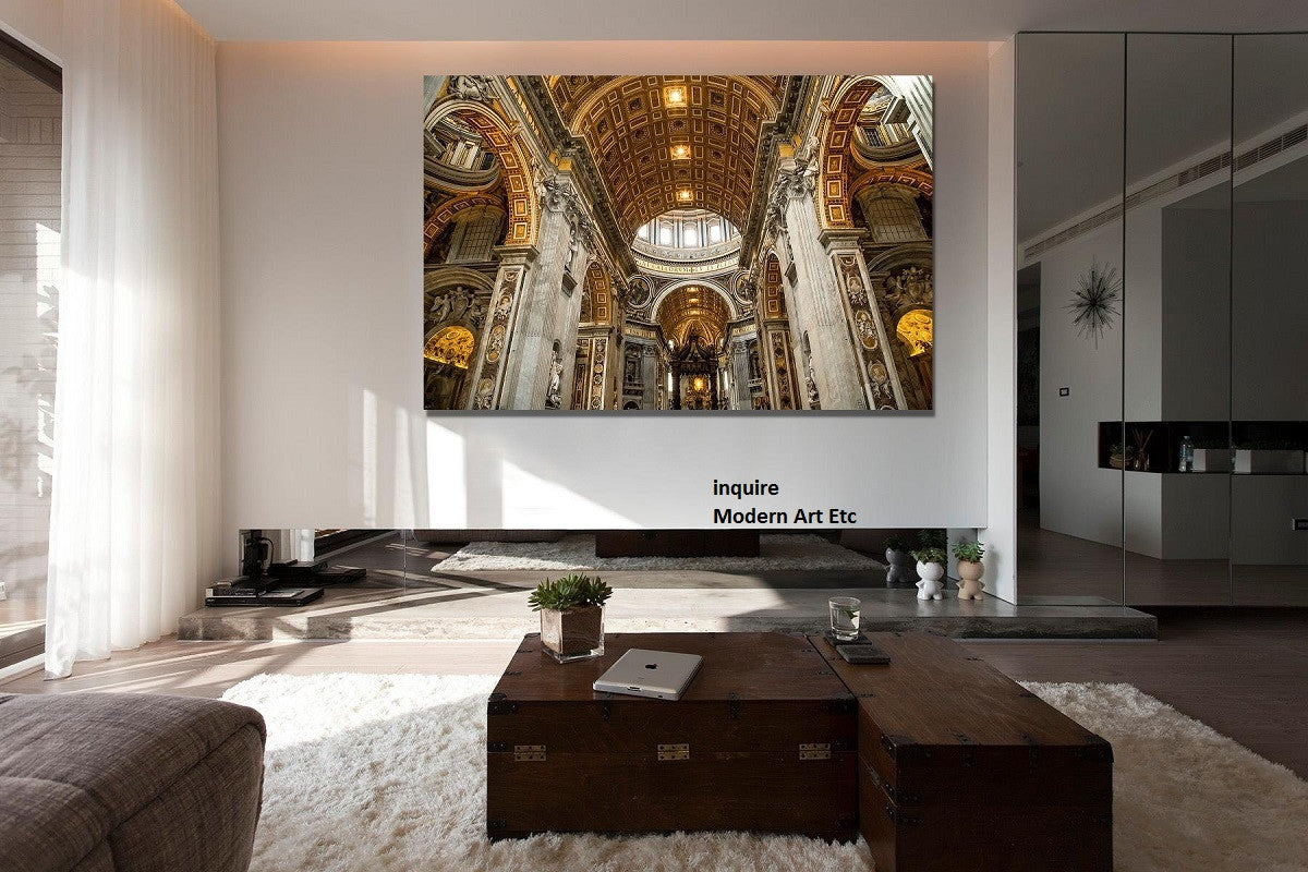 Architectural Interiors   Grand Interiors, Europe   Large Photography    Framed   Installation Ready