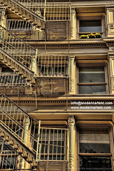New York City Architectural Landscapes – 27 - Soho, New York New York