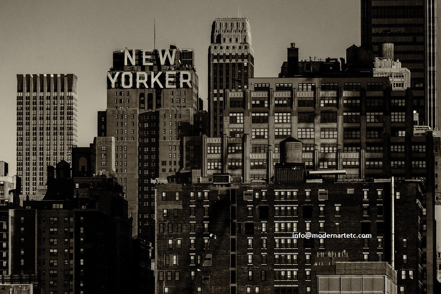 New York City photography -  New Yorker Skyline, Manhattan