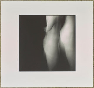 Nude abstract art photography of female, male in silver gelatin & archival print - Nude 11