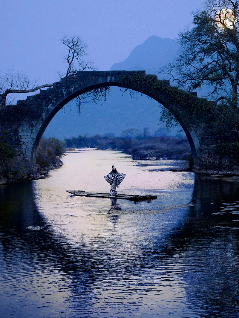 JP Pietrus - CiCi's Moon River - China, Guilin, Poetic landscape photography