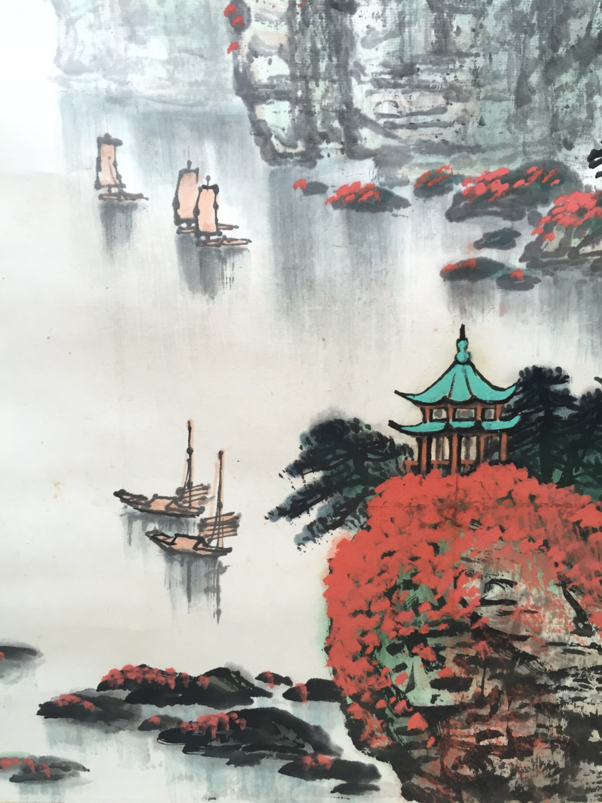 5dc29e11c Chinese ink painting - Chinese contemporary ink landscape painting ...