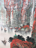 Chinese ink painting - Chinese contemporary ink landscape painting