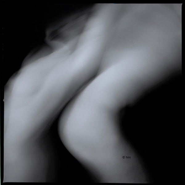 Nude abstract art photography of female, male in archival print - Man and Woman, Nude 12