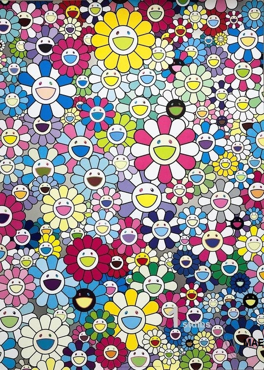 Limited Edition Murakami print - I look Back and There, My Beautiful Memories 2013