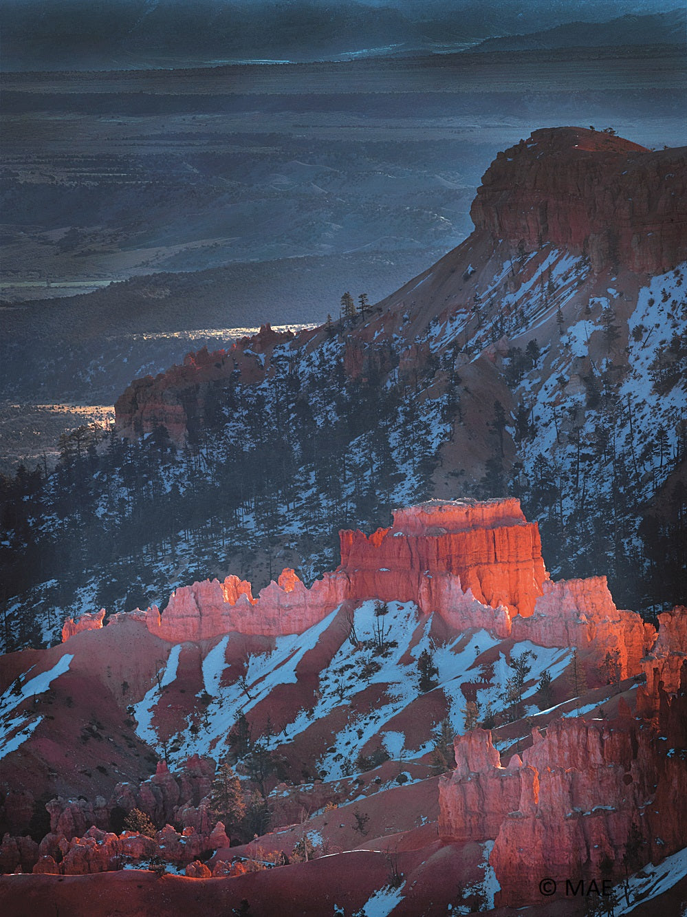 Color Photography of American landscape series - Bryce Canyon