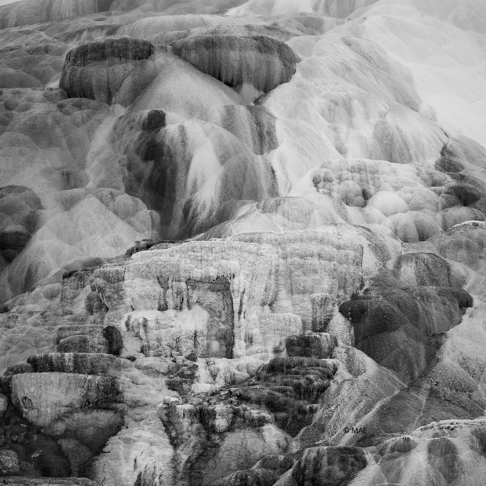 "Photography of American landscape series ""Yellowstone"" n.5"