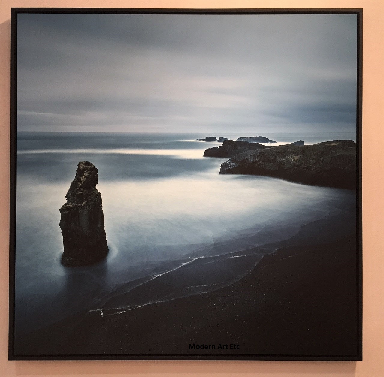 Seascapes photography - Ocean, Nature study I - large framed photograph