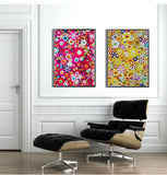 Limited Edition Murakami print - Homage to Yves Klein Multicolor A 2012  - LAST