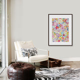 Limited Edition Murakami print - Homage to Monopink A - UNFRAMED