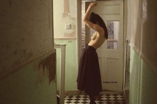 Elena Gallotta - Photography - NOTE (Nudes, Female Portraiture series)