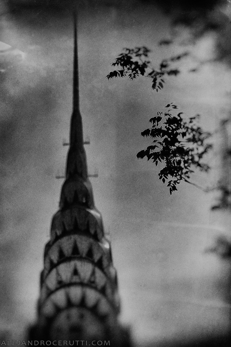 Chrysler Building black and white photography from Modern Art Etc