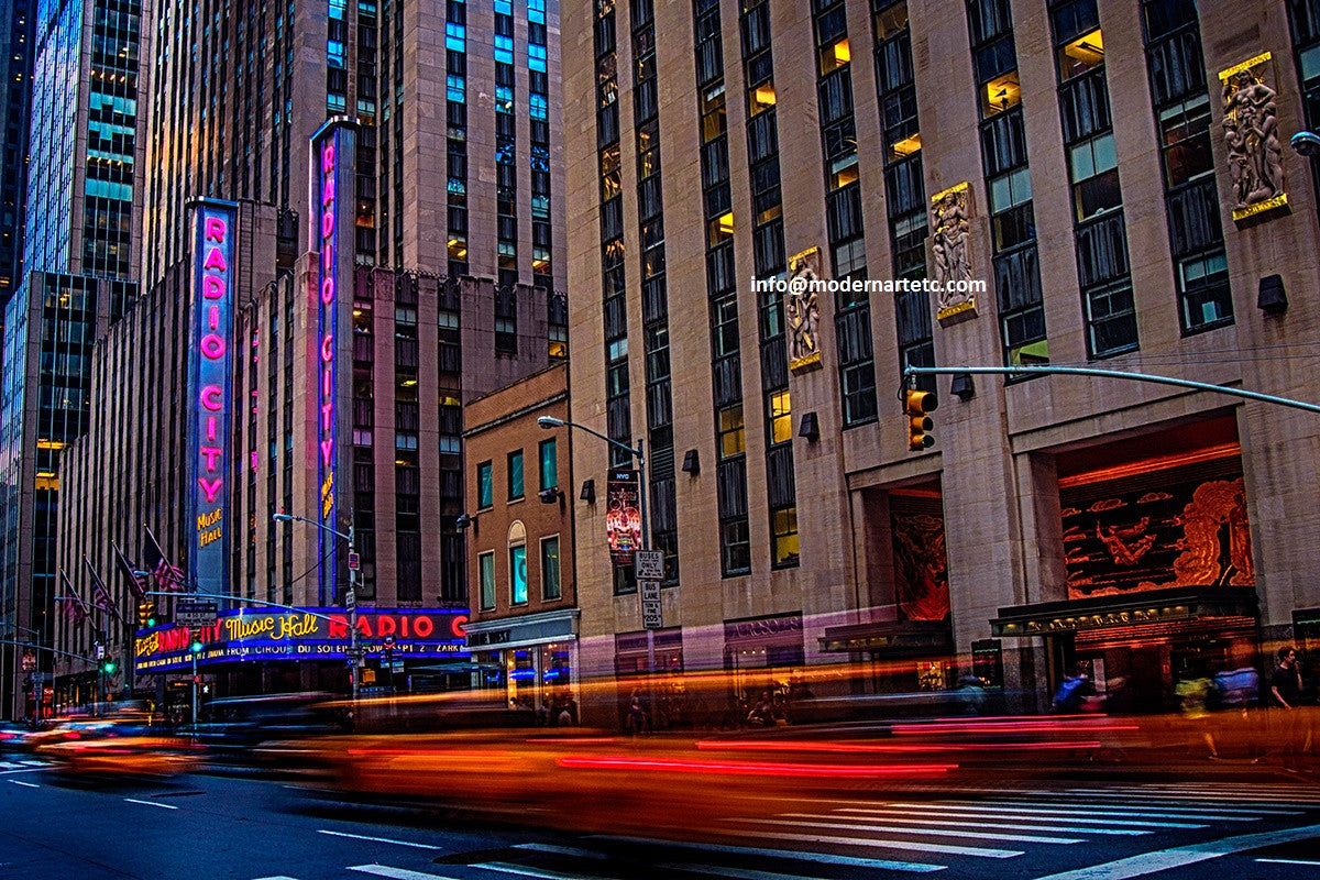 New York City Architectural Landscapes  –  Radio City, Manhattan (6)