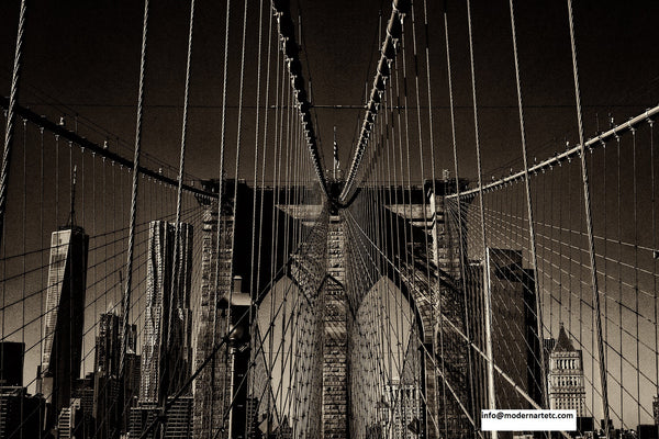 New York City Architectural Landscapes - 22 Bridges & Connectors