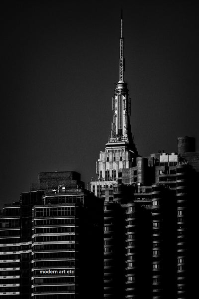 New York City Architectural Landscapes  – 25 black and white