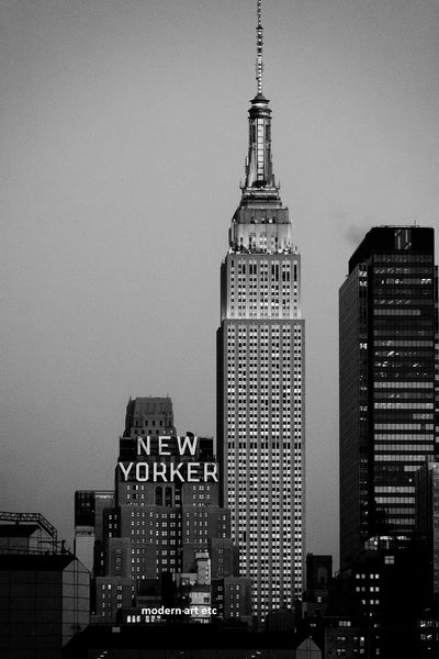 New York City Architectural Landscapes – 28 New Yorker Skyline (Vertical)