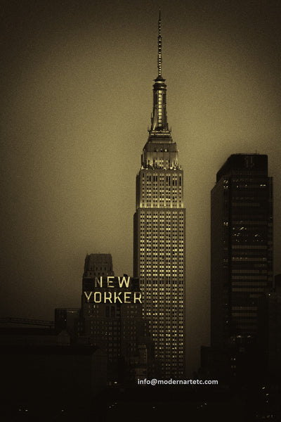 New York City Architectural Landscapes – 29 New Yorker Skyline Vertical
