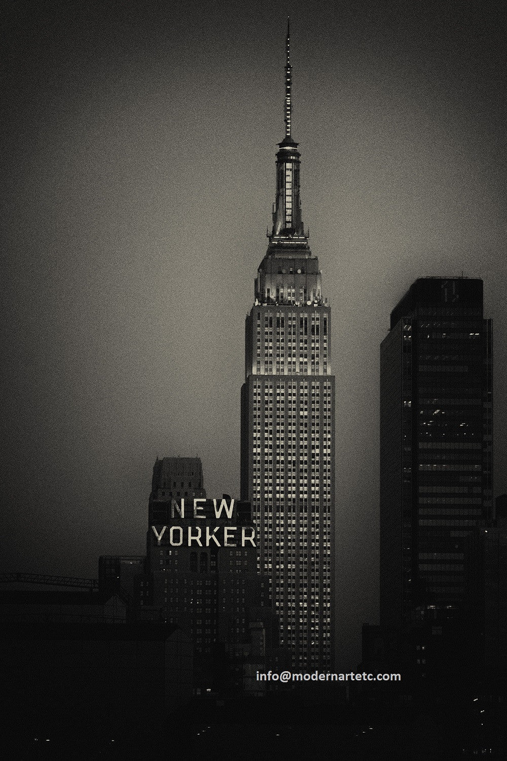 New York City Architectural Landscapes  – 30 New Yorker Skyline Vertical