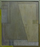 Abstract oil painting - For the Love of Diebenkorn, Study 1