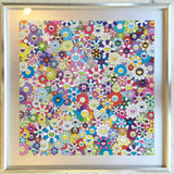Limited Edition Murakami print - Homage to Yves Klein Multicolor A 2012 - UNFRAMED