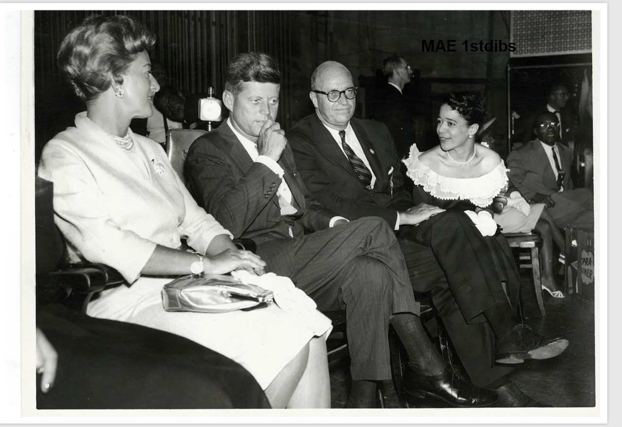 Icons and people - John F Kennedy, Shrine Auditorium, Calif. July, 1960