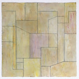 Abstract print 22x22 in. - Neutral 6