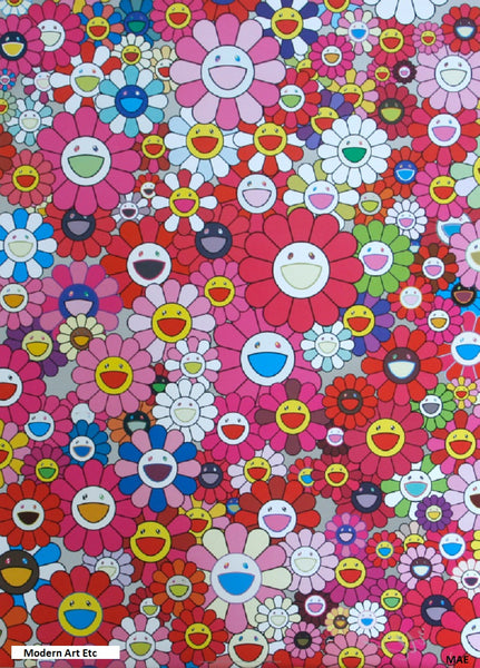 Limited Edition Murakami print - Homage to Monopink A - Sold framed