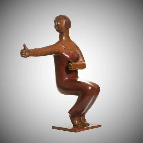 "Contemporary Bronze Sculpture - ""Yoga Series - No. 10""  2009"