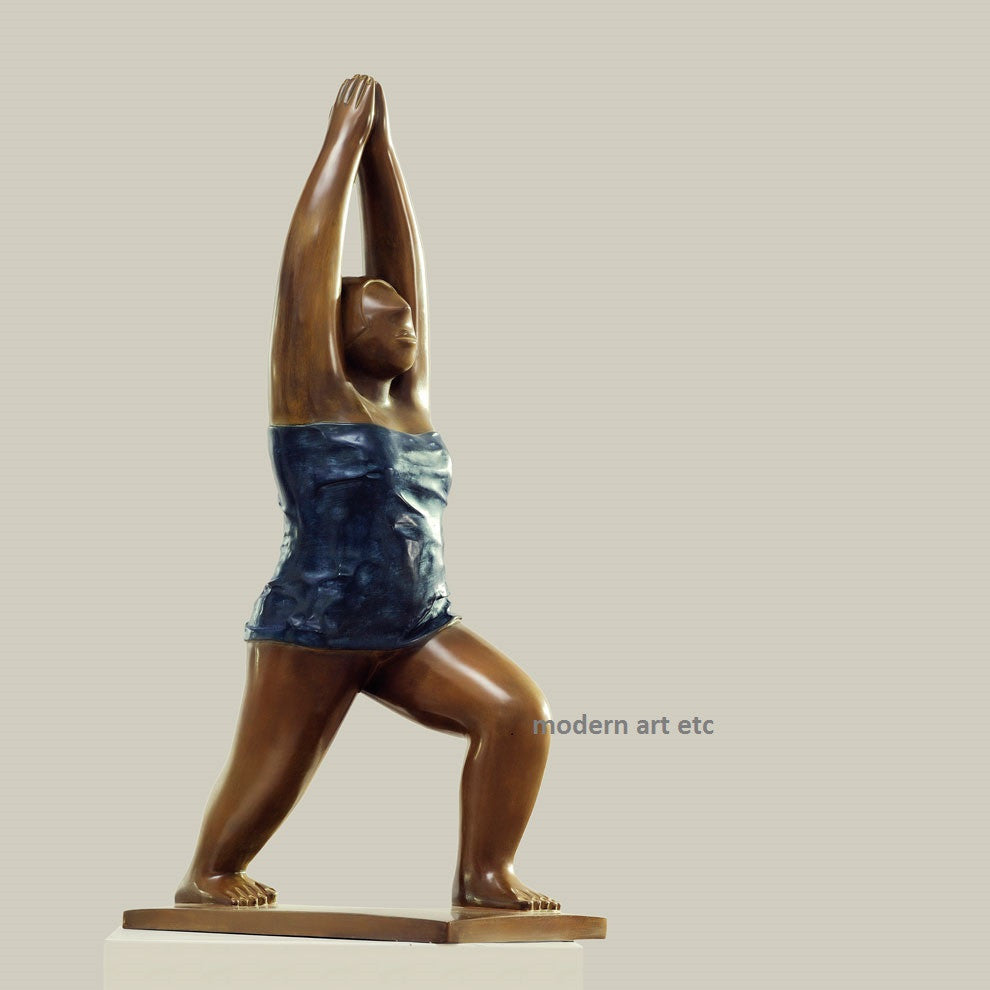 Contemporary Bronze, Yoga, No. 1, Bronze, 2009