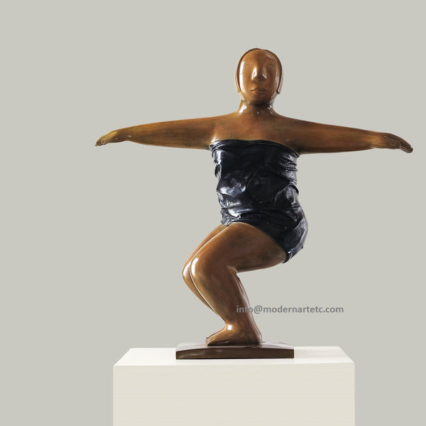 Contemporary Bronze - Yoga, No. 5, Bronze, 2009