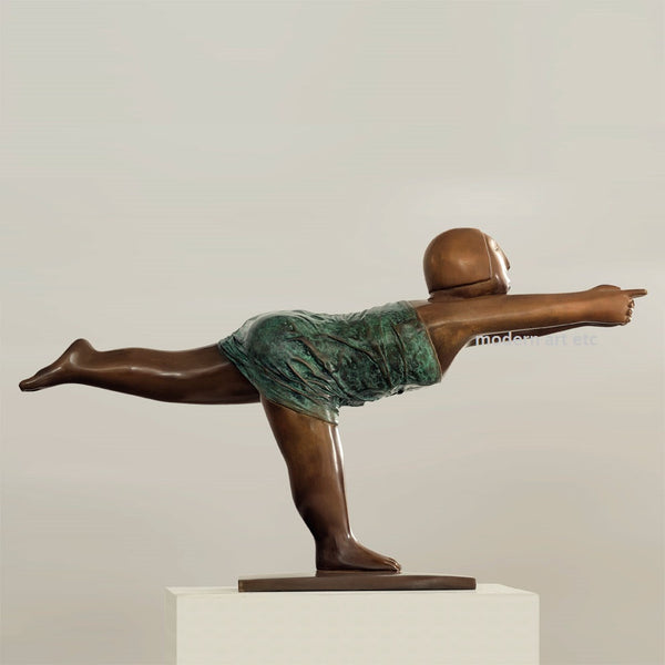 Contemporary Bronze, Yoga, No. 9, Bronze, 2009