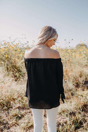 Black Off the Shoulder