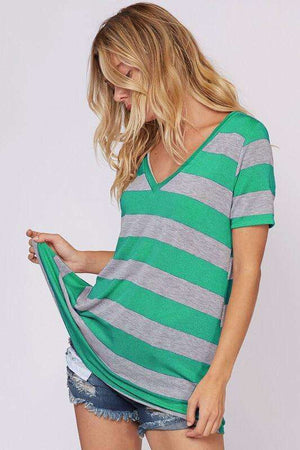 Green Striped