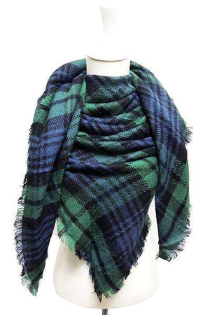 Green/Blue Scarf