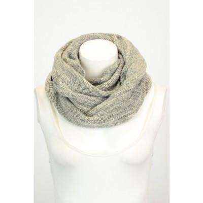 Grey Marled Snood