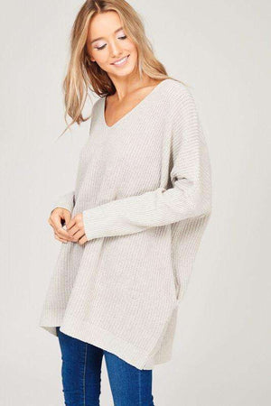 Grey Sweater Dress