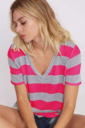 Hot Pink Striped