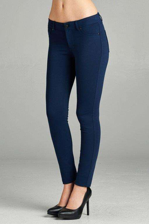 Navy Skinnies Plus