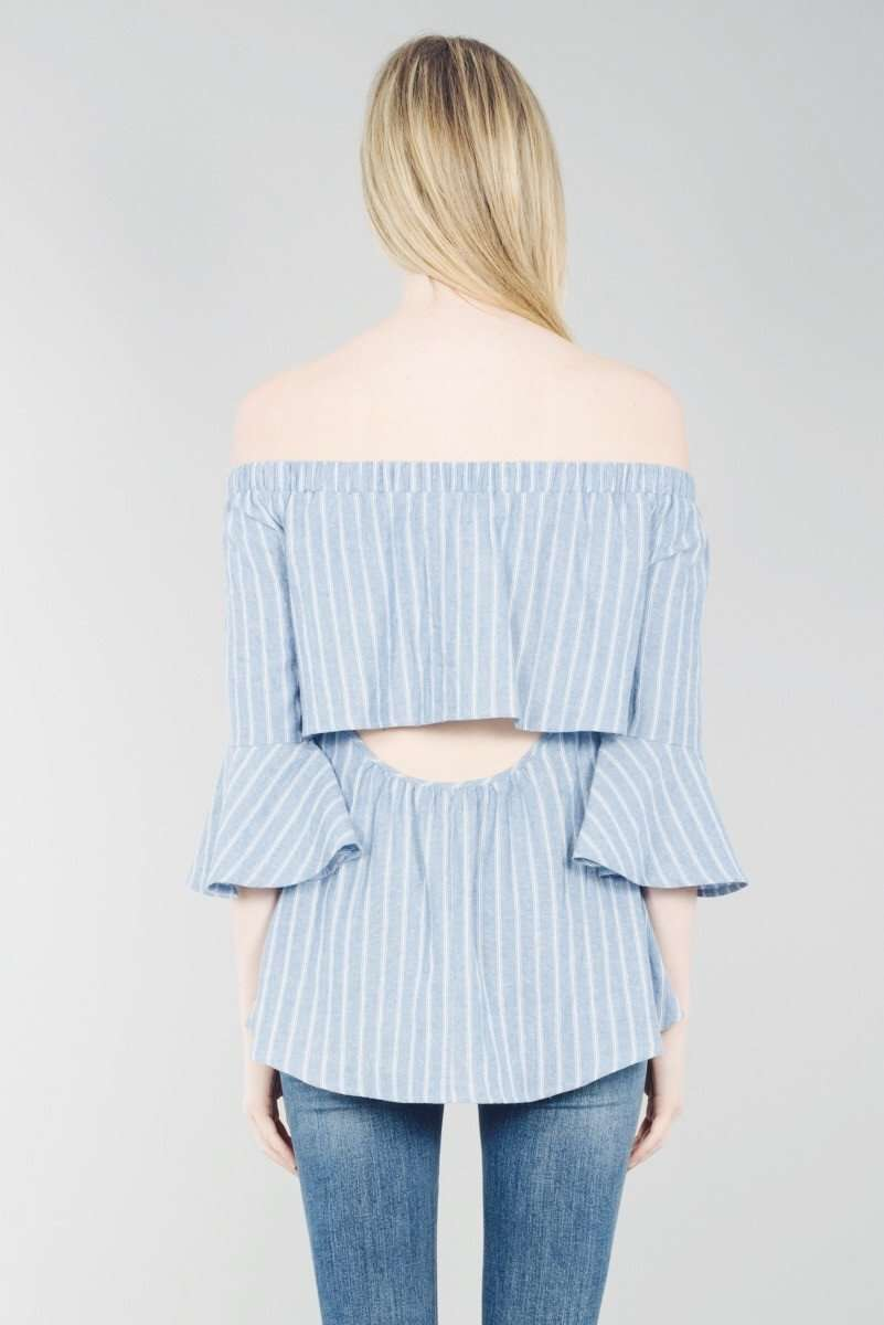 Pin Stripe Chambray
