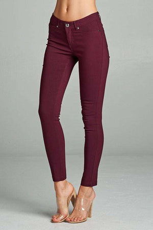 Plum Skinnies Plus