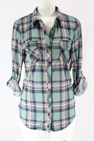 Sage Green Flannel