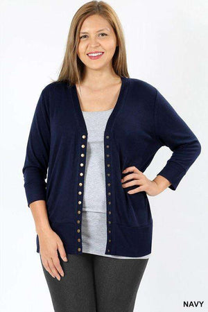 Snap Cardigan (more colors)