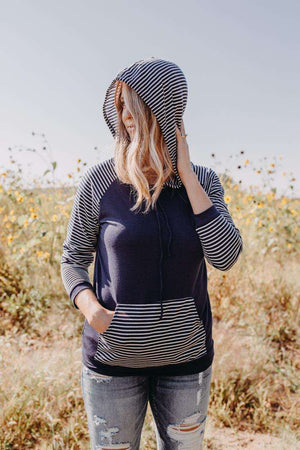 Striped Hooded (more colors)