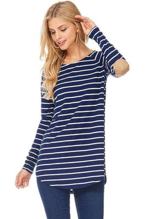 Striped Patched Top (more colors)