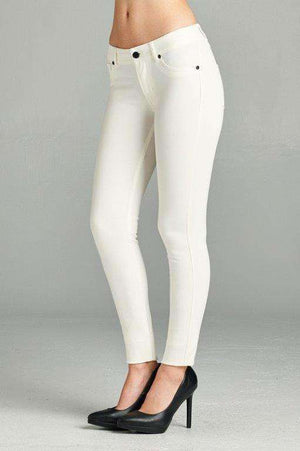 White Skinnies Plus